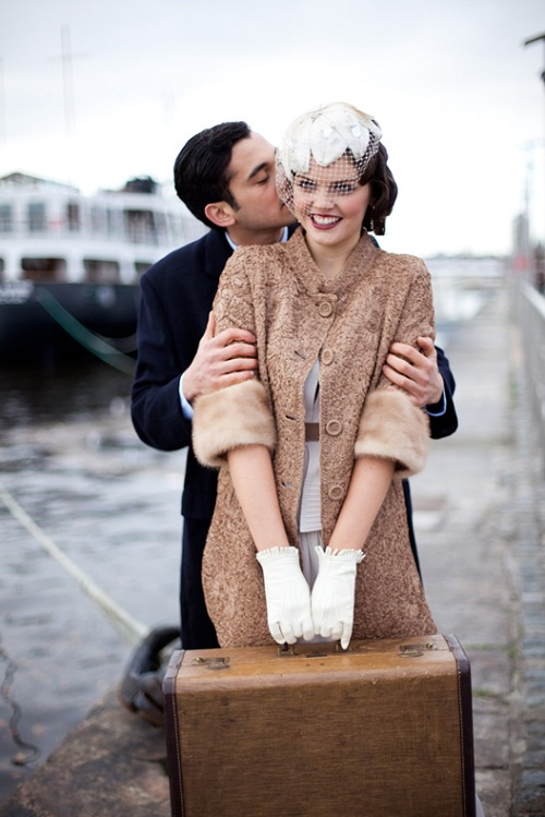 Vintage Travel Wedding 7