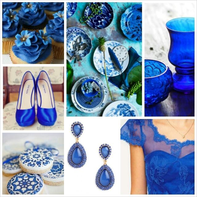 Spring Wedding Colors 2014: Pantone Spring 2014 Colors: Dazzling Blue Wedding