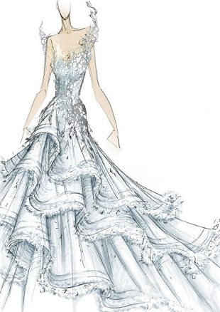 Hunger Games Wedding gown 1
