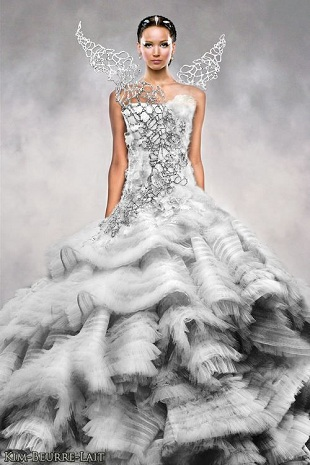 Hunger Games Wedding gown 2