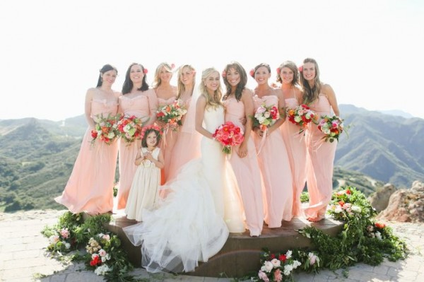 Pastel Bridesmaid Dresses 1