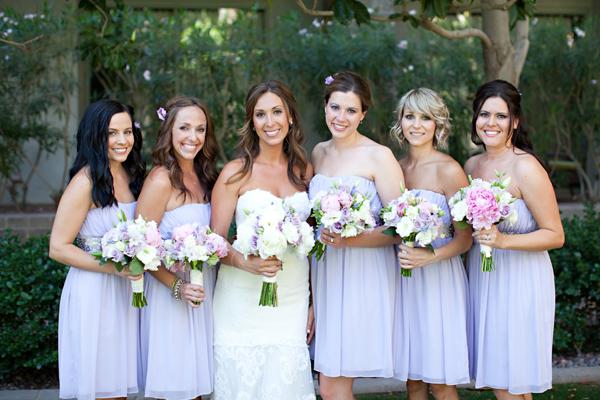 Pastel Bridesmaid Dresses 13