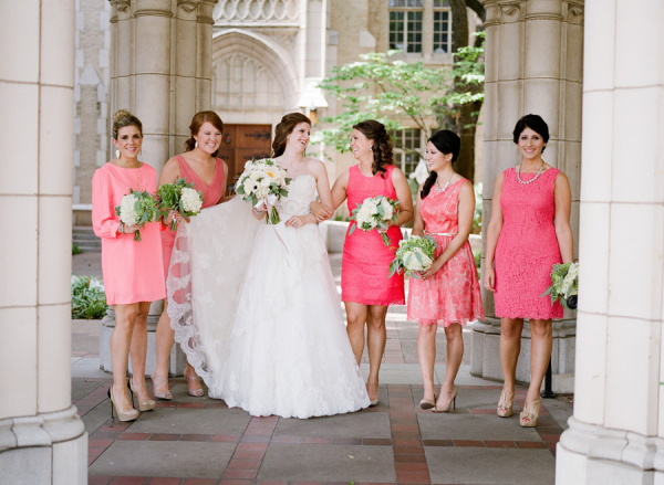 Pastel Bridesmaid Dresses 14