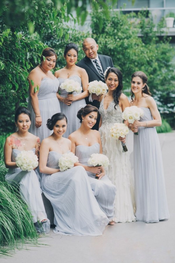 Pastel Bridesmaid Dresses 2