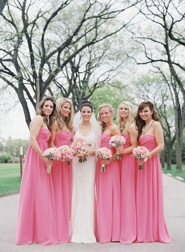 Pastel Bridesmaid Dresses 3