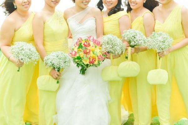 Pastel Bridesmaid Dresses 4