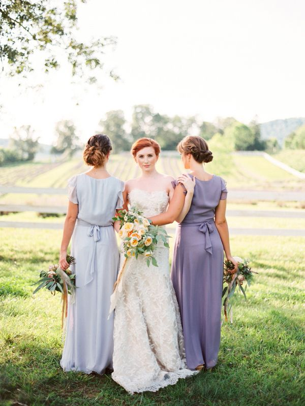 Pastel Bridesmaid Dresses 9