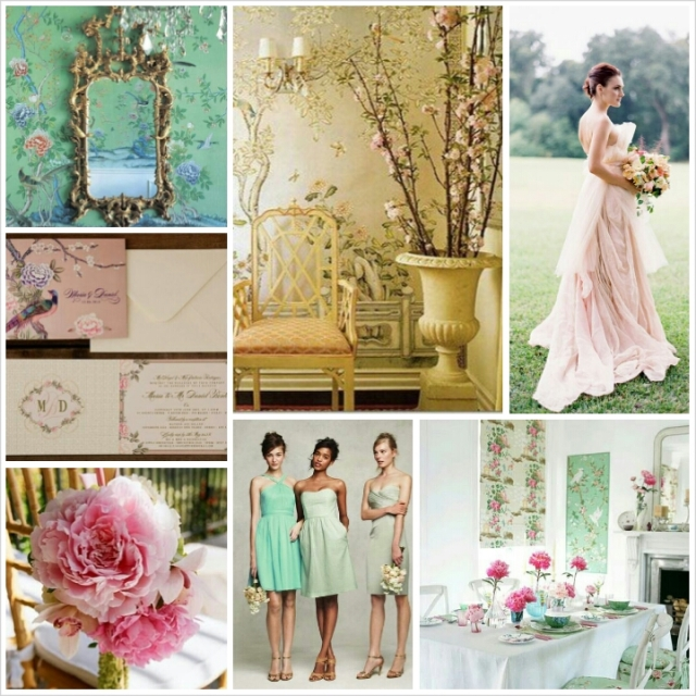 Asian Flair : Chinoiserie Chic Wedding Theme