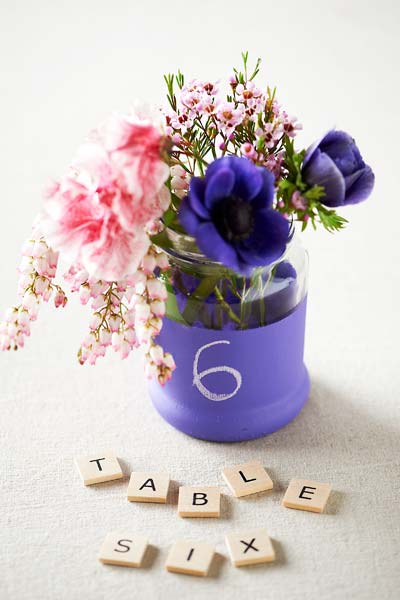 diy_chalkboard paint table number