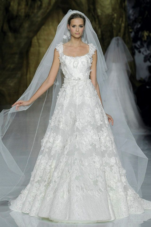bridal spring 2014 elie by elie saab wedding blog