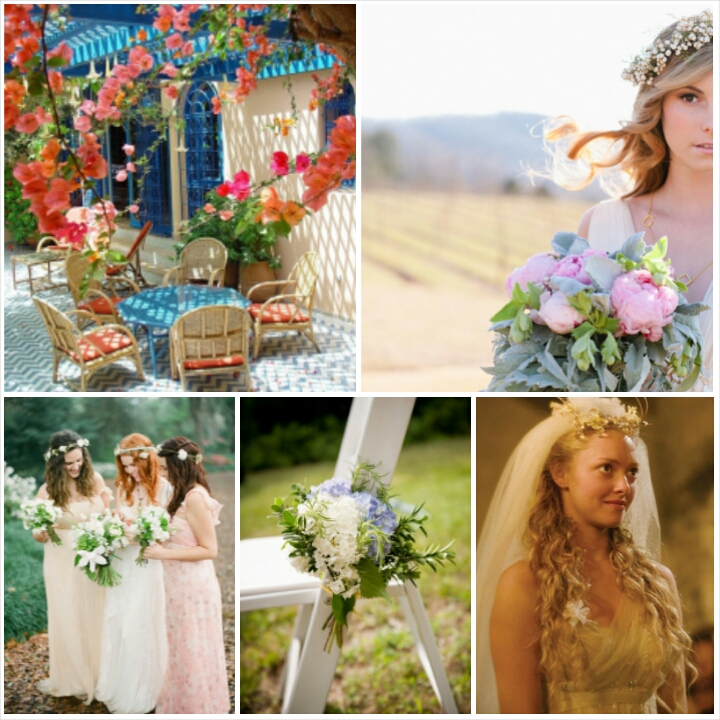 a8715ceff6a Mamma Mia Movie Wedding Inspirations. 6. Up – Full of colorful
