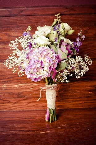 radiant orchid bouquet