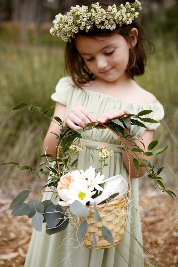 12 Cutest Boho Flower Girl Inspirations Wedding Blog