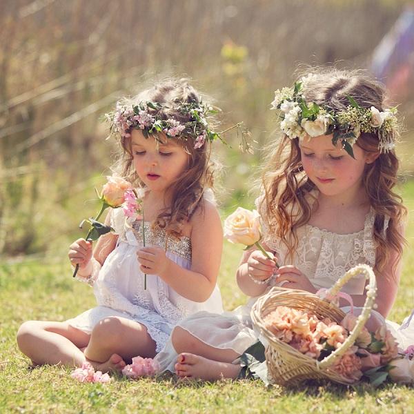 Boho Flowergirls
