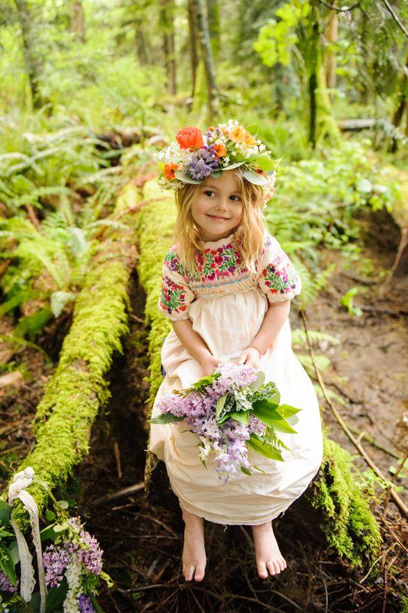 12 Cutest Boho Flower Girl Inspirations - Wedding Blog ...
