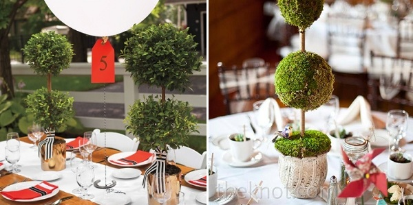 topiary and balloon