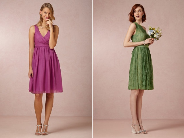 BHLDN Color Bridesmaids 9