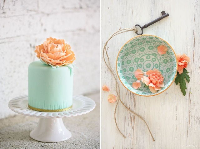 Mint Cake + Ceramic and Key by A Rosy Note