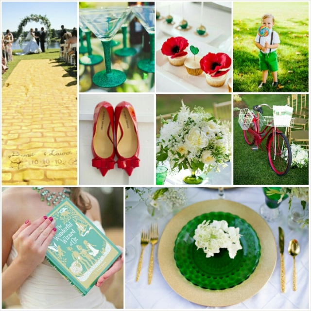 Wizard of Oz Wedding Theme