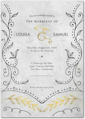 graceful_vines-signature_white_wedding_invitations-marchesa-flint-gray