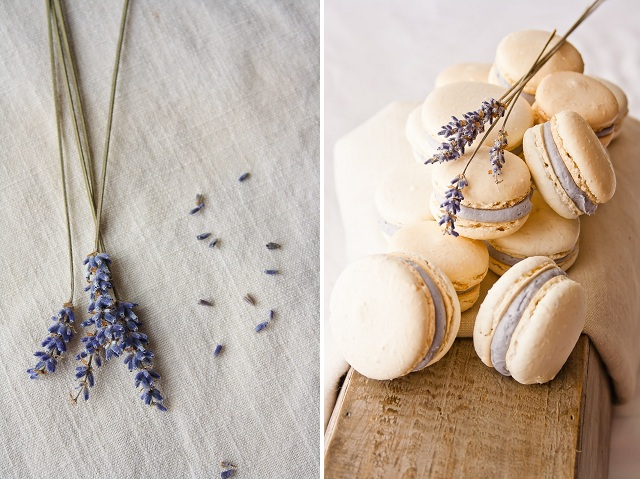 Honey Lavender Macarons