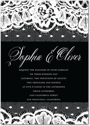 lithe_lace-signature_white_wedding_invitations-marchesa-black