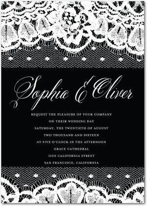 lithe_lace-signature_white_wedding_invitations-marchesa-black