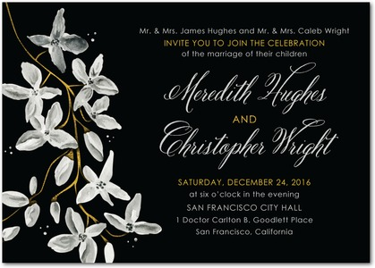 night_blooms-signature_white_wedding_invitations-marchesa-black