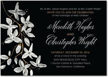 night_blooms-signature_white_wedding_invitations-marchesa-black