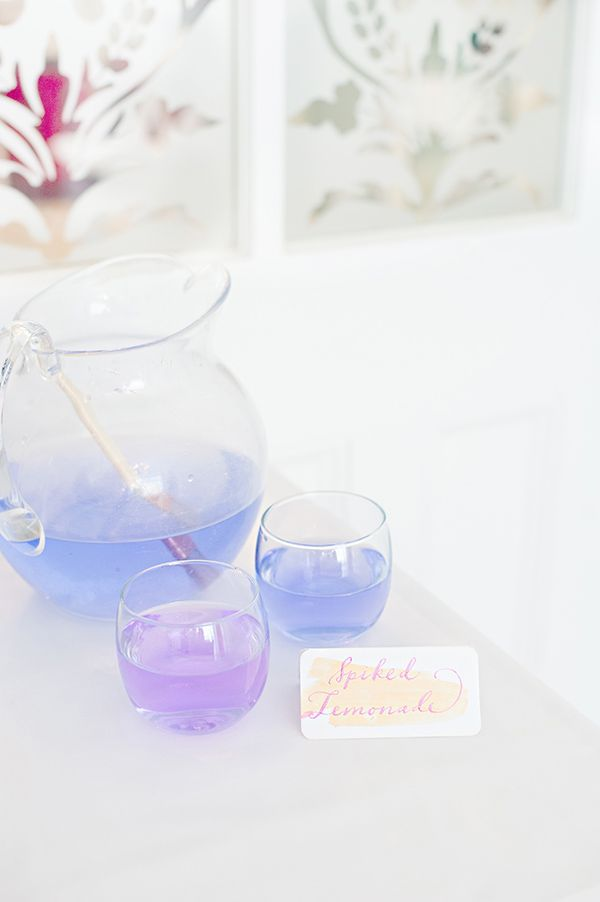 watercolor drink